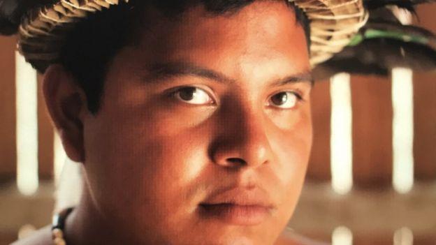 Marivelton Baré, presidente de federação dos indígenas
