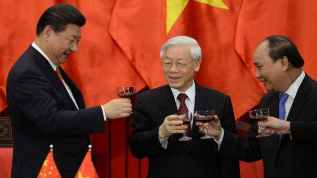 Chủ tịch Trung Quốc Tập Cận Bình thăm Việt Nam tháng 11/2015