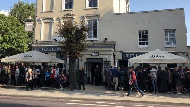 The Tollington pub in Holloway, London