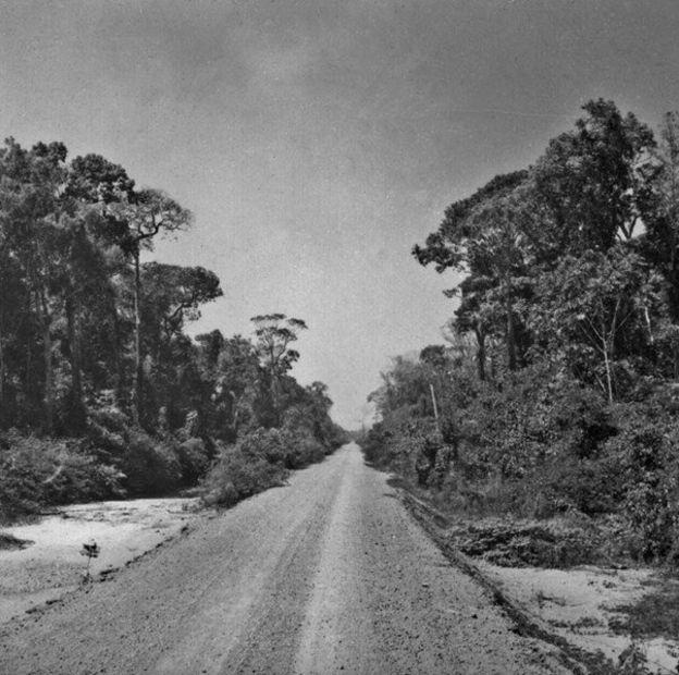Trecho inacabado da rodovia Transamazônica