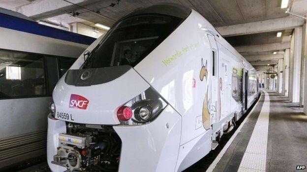 Tren Ffrainc