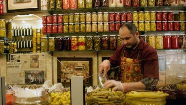 土耳其的泡菜文化至少可以追溯到奥斯曼帝国时代的早期