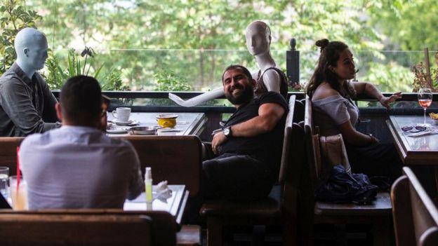 Kafe di Istanbul