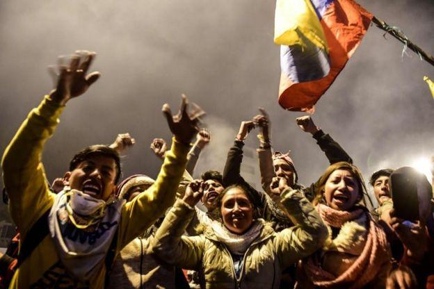 Ekvador protestolar
