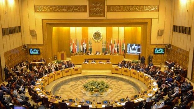Reunión de ministros de Exteriores de la Liga Árabe en El Cairo.