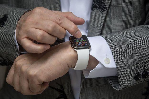Un smart watch de Apple