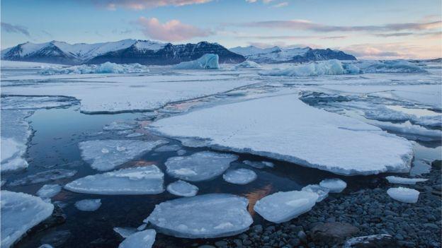Indestructible hielo artico