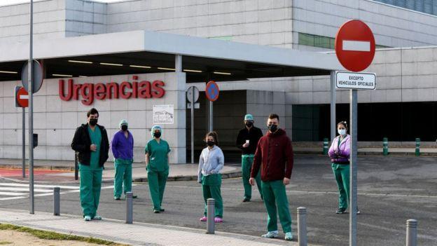 Madriddə xəstəxana