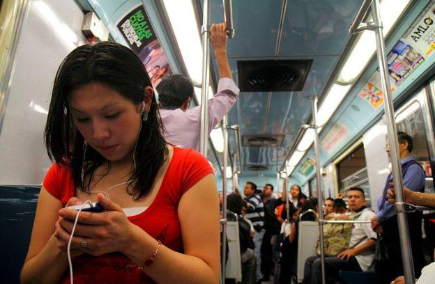 Metro de la Ciudad de México.
