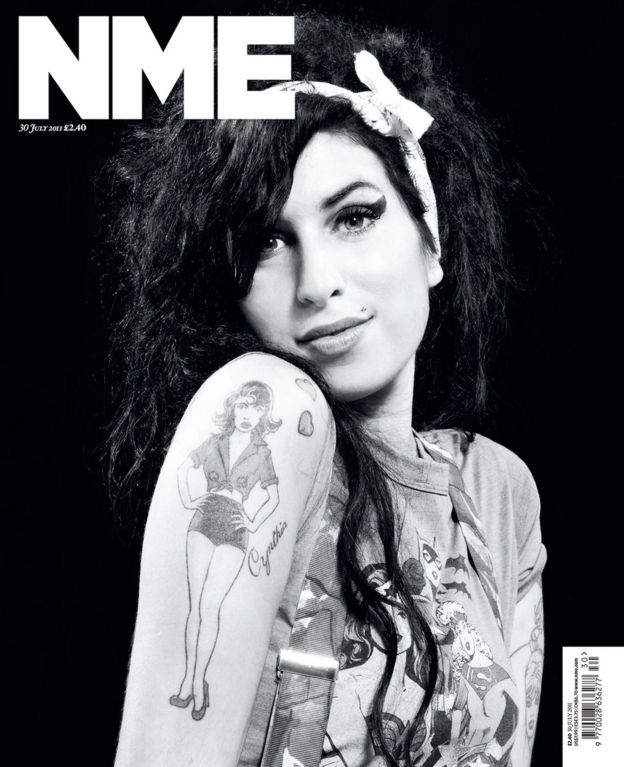 Amy Winehouse's NME cover