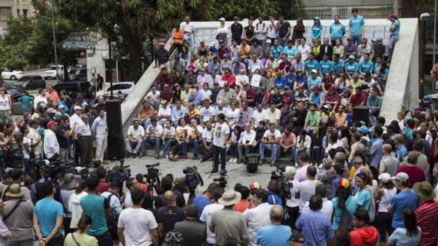 Discurso en Caracas