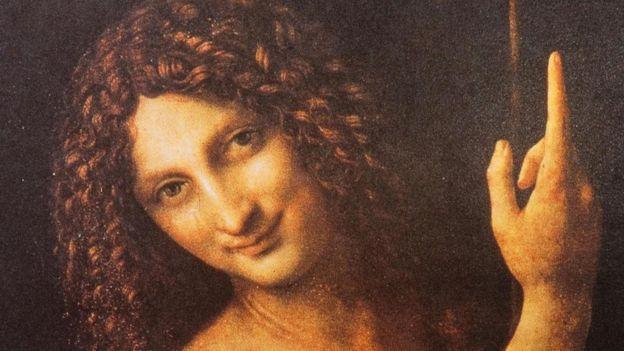 Pintura de São João Batista, de Leonardo da Vinci