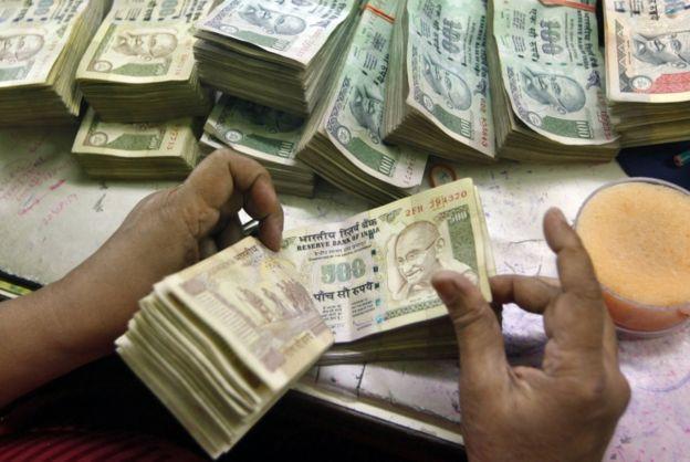 India rupias