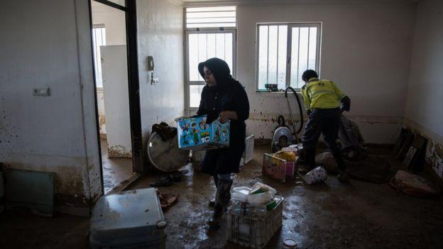 سیلزدگان در استان گلستان