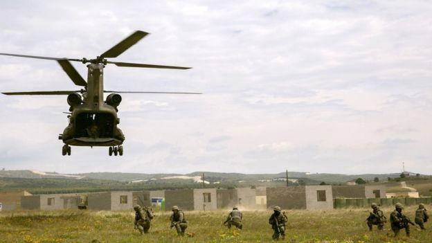 EU battlegroup training, 10 May 17