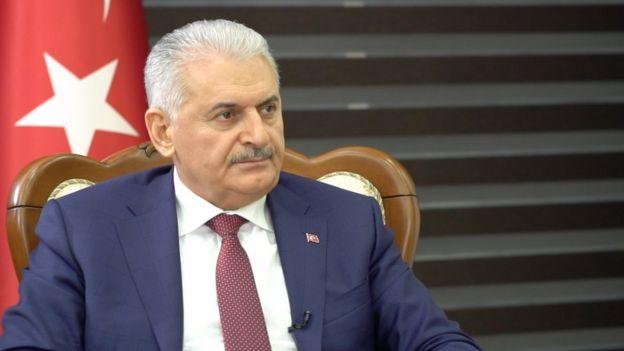 (BBC)Başbakan Binali Yıldırım: Afrin kent merkezi de Zeytin Dalı Harekatı'na dahil(15 Şubat2018)