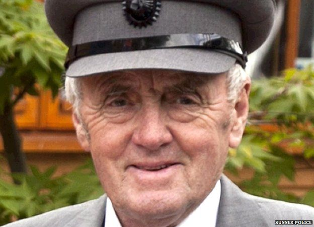 Undated Sussex Police handout photo of Maurice Abrahams, 76, from Brighton - one of the Shoreham Airshow crash victims
