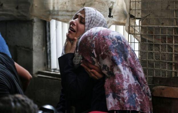 تشییع جنازه عضو جهاد اسلامی