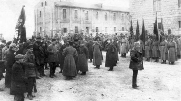 Azərbaycan Xalq Cümhuriyyətinə aparan tarixi hadisələrin xronologiyası