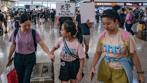 Unrest In Hong Kong During Anti-Extradition Protests