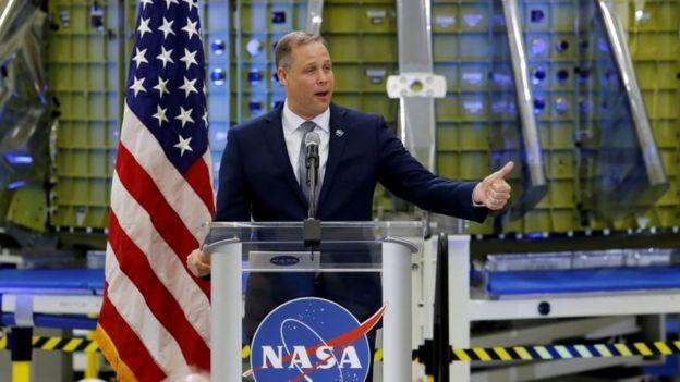 美国太空总署署长吉姆·布莱登斯坦