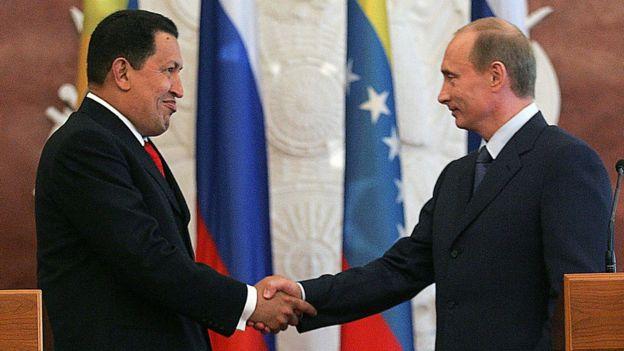 Chávez e Putin