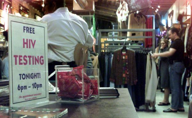 Imagen de Out of the Closet, en Los Ángeles.