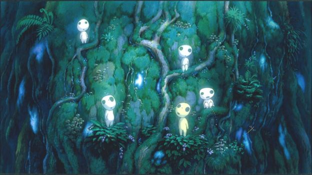 Image from the 1997 film Princess Mononoke