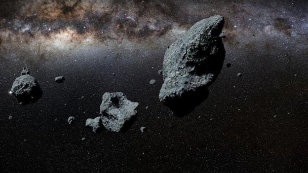 من مصاعب الحياة على الكويكبات انعدام الجاذبية فوق سطحها