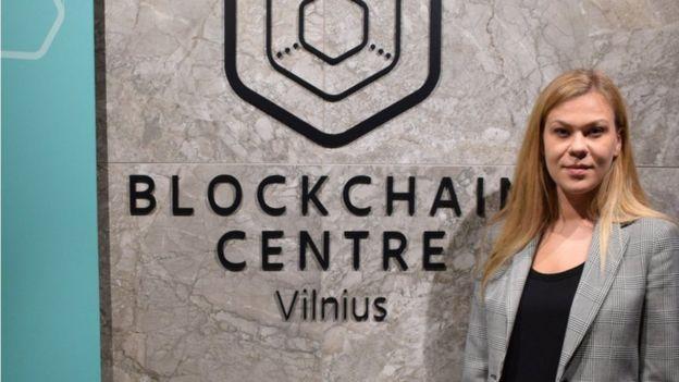 Egle Nemeikstyte, CEO of the Blockchain Centre in Vilnius