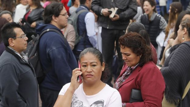Terremoto en México.