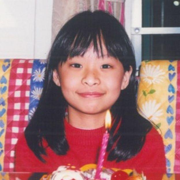 小風小時候留長頭髮。