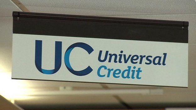 Universal Credit sign