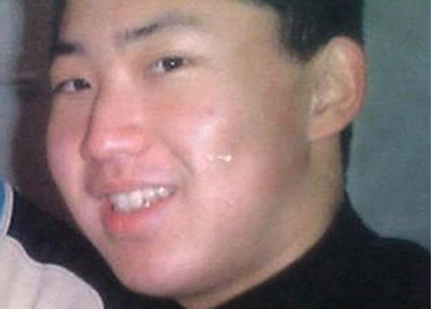 An undated picture shows what is believed to be North Korean leader's son Kim Jong-un in Berne