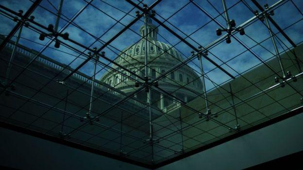 Una imagen del Capitolio de Estados Unidos.