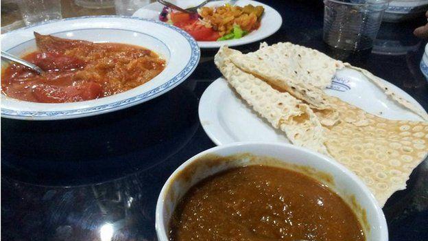 A vegetarian platter