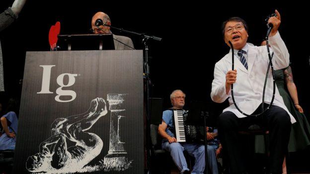 Ceremonia de entrega de los premios Ig Nobel