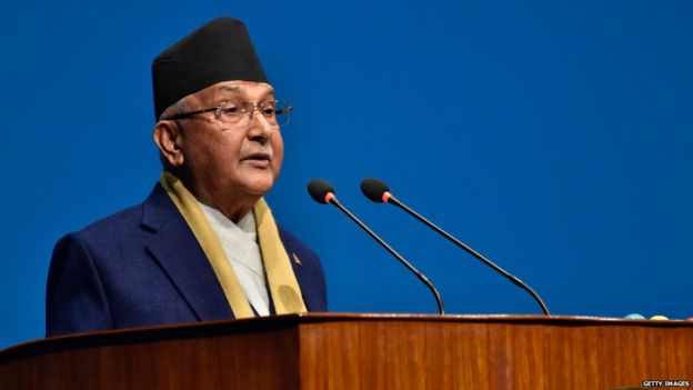 केपी शर्मा ओली नेपाल