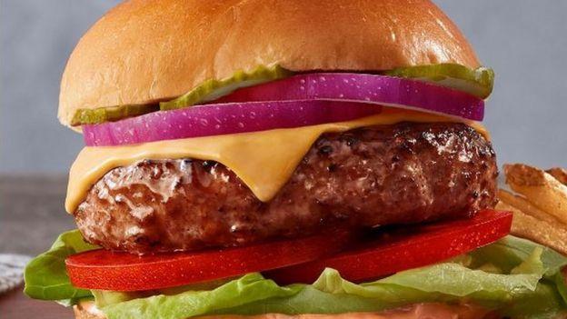 Hambúrguer da Beyond Meat