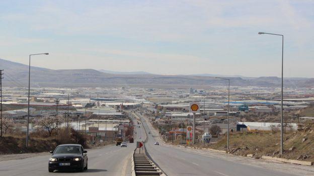Kayseri Organize Sanayi Bölgesi