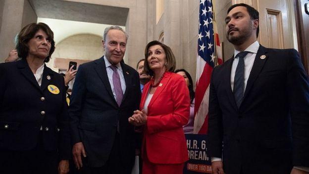 Chuck Schumer ve Nancy Pelosi