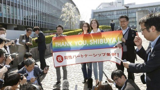 Gay rights in japan