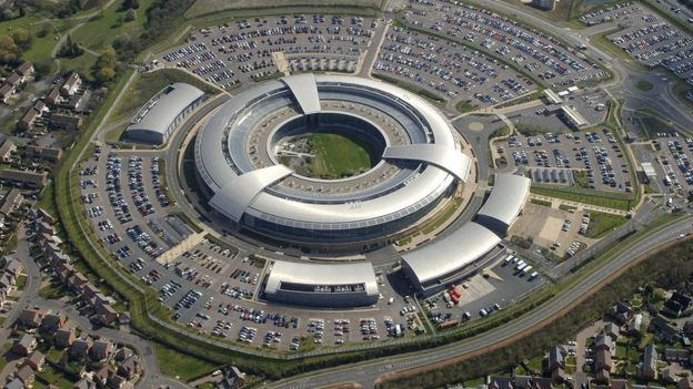 Government Communication Headquarters (GCHQ) in Cheltenham