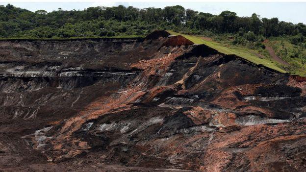 Barragem da Vale que rompeu em Brumadinho