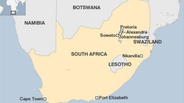 Ramani ya taifa la Swaziland