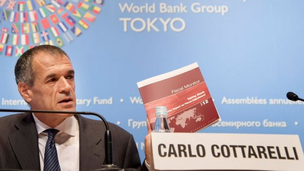 カルロ・コッタレッリ氏は公共支出を削減したことで名高い