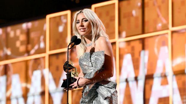 Lady Gaga en los Grammy 2019