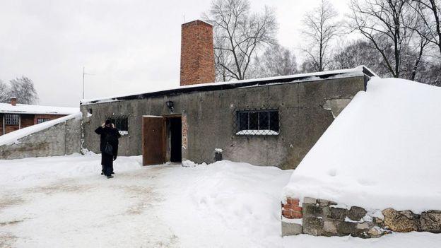 Cámaras de gas en Auschwitz I
