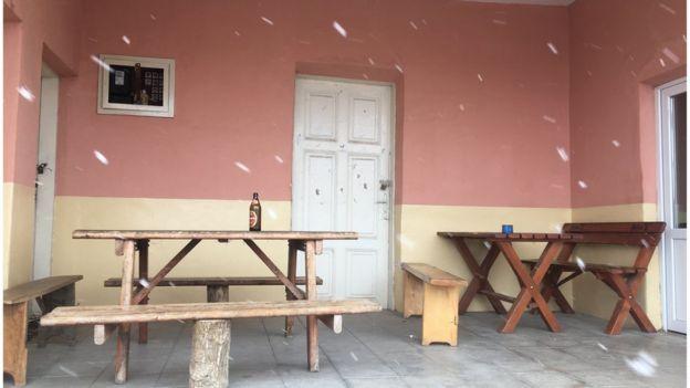 Prazna mesna zajednica, opština Knjaževac, mart 2020.