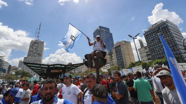 Marcha en Argentina